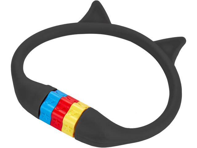Cube RFR HPS Cijfer Kabelslot Kat Kinderen, zwart